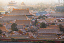 Forbidden City At Sunrise, Bei...