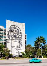 Che Guevara Memorial At Plaza De La Revolucion, Revolution Square, Havana, La Habana Province, Cuba
