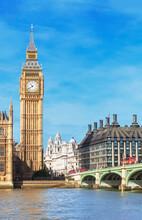 Westminster Bridge And Big Ben...