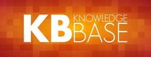 KB - Knowledge Base Acronym, T...