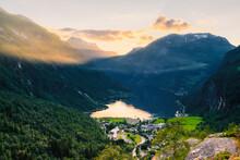 Geiranger And Geirangerfjord, ...