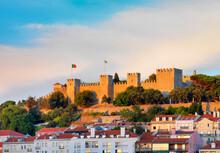 Portugal, Lisbon, Sao Jorge Ca...