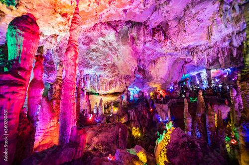 Jiuxiang Cave Kunming, Yunnan China