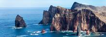 Portugal, Madeira, Ponta De Sa...