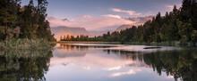 Lake Matheson And The Southern...