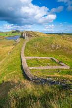 UK, England, Northumberland, Hexham, Henshaw, Hadrian's Wall, Milecastle 39