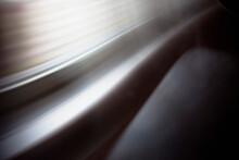 Close-up Of Abstract Silver Li...