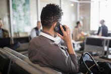 Woman Talking On Smart Phone W...