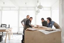 Architects Discussing Architec...