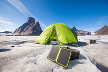 Solar Panel Charger With Tent ...