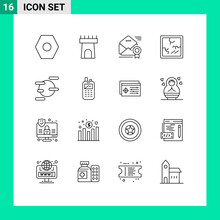 16 Outline Concept For Websites Mobile And Apps Phone, Space, Medal, Science, Halloween