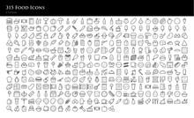 315 Food Icons