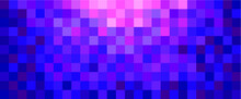 Background Of Purple Square Tiles