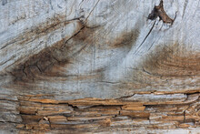 Texture Aged Wooden Board With...