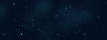 Stars In Night Sky.Dark Space ...