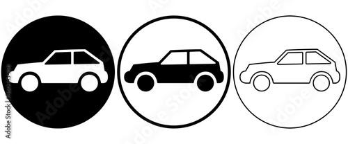Vászonkép car icon