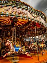 Merry Go Round Carousel Near T...