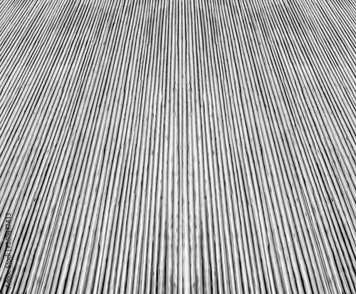 Photo Fond béton brut rainuré texture bambou
