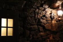 Widok Na Kamienny Tunel Oświe...