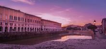 Senigallia, The Misa River Cro...