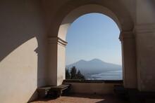 Arch Of The Certosa Di San Martino In Naples, Italy
