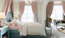 Children's Bedroom With A Larg...