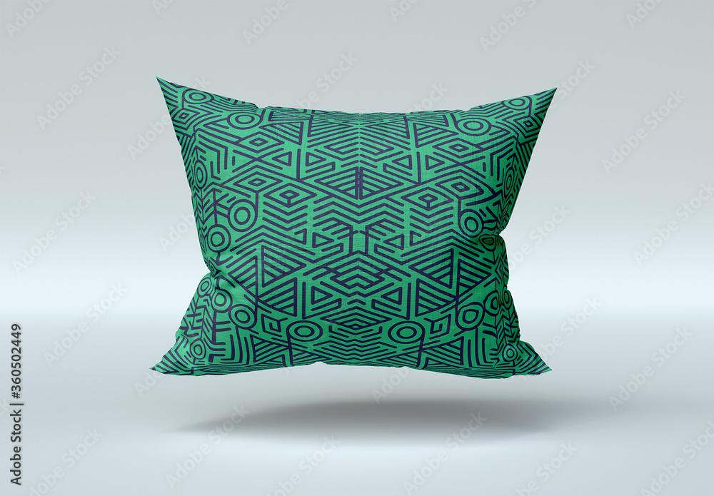 Fototapeta Square Pillow Mockup