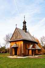 Old Traditional Polish Wooden ...