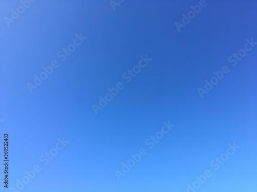 Céu azul Canvas Print