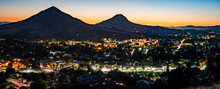 San Luis Obispo At Night