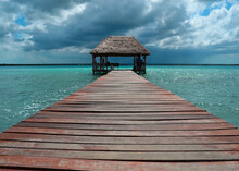 Vintage Rustic Wooden Jetty Ph...