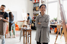Portrait Of Japanese Artist In...