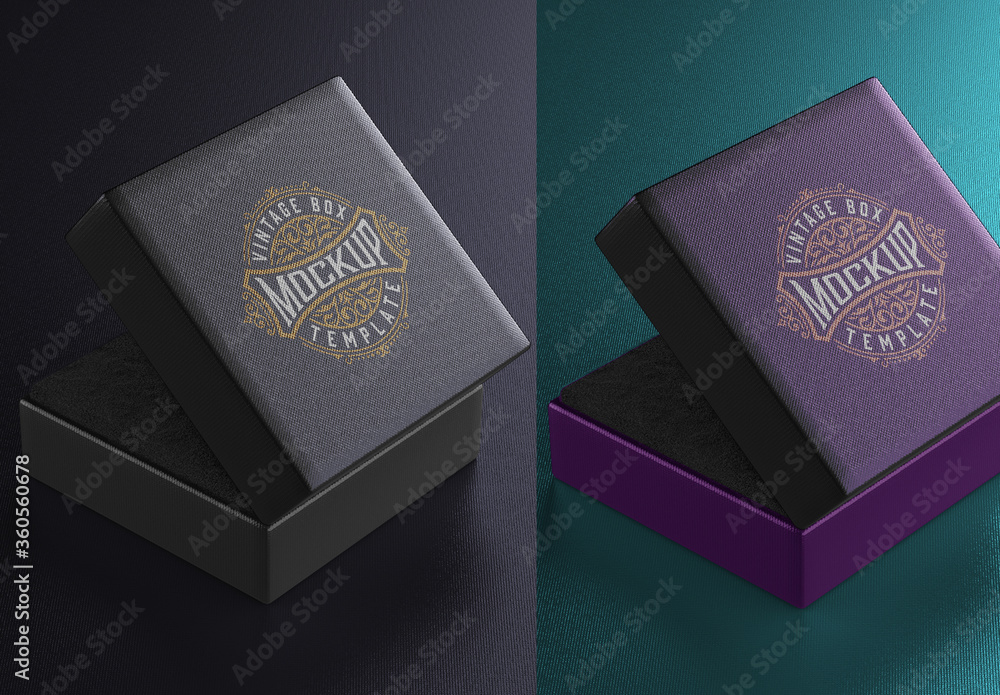 Fototapeta Jewelry Box Mockup