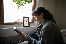 Woman On Video Call Using Digi...