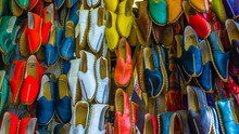Traditional Colorful Shoes In ...