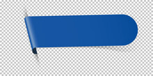 Blue Arrow Bookmark Banner For...