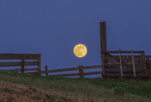 Full Moon Over The Old Corral ...