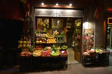 Traditional Turkish Greengrocer