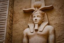 Wall Sculpture Of  Ancient Egypt Pharoah