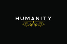 Humanity White Letter Yellow H...