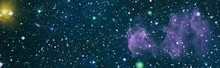Deep Space With Cosmic Clouds ...