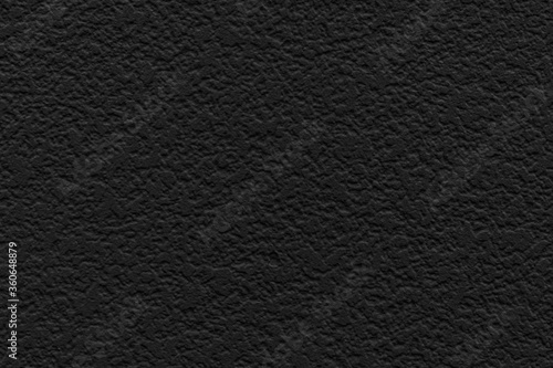 Close - up Black leather texture and seamless background Fototapet