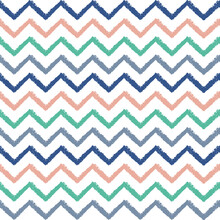 Vector Colourful Chevrons Seam...