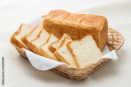 Fototapeta スライスした食パン