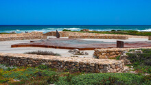Cape Agulhas, The Southernmost Point Of Africa.