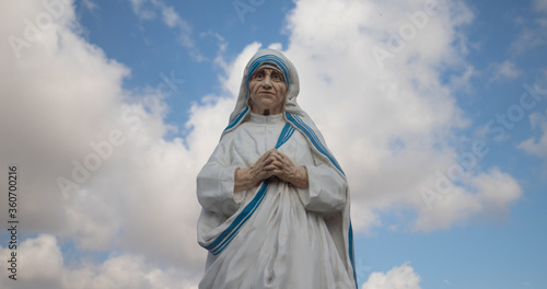 Valokuva Mother Teresa of Calcutta statue