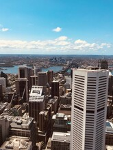 Aerial View Sydney, NSW