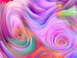 canvas print picture - Swirling Colors Wallpaper
