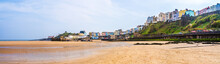Colorful Houses On The Beach S...