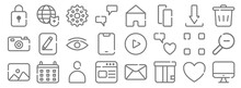 Ui Master Line Icons. Linear S...